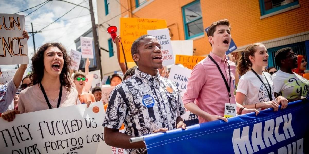 FOTOS. Más de un millón marcharon contra las armas en Estados Unidos
