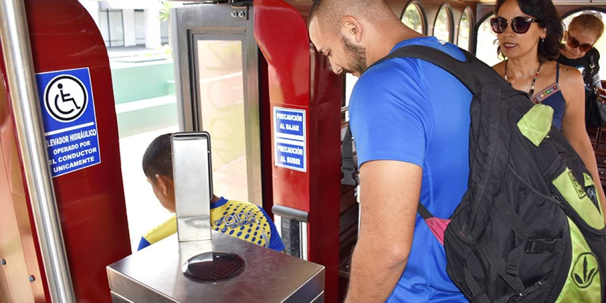 9 901 tarjetas para usar el transporte Sambo Trolley