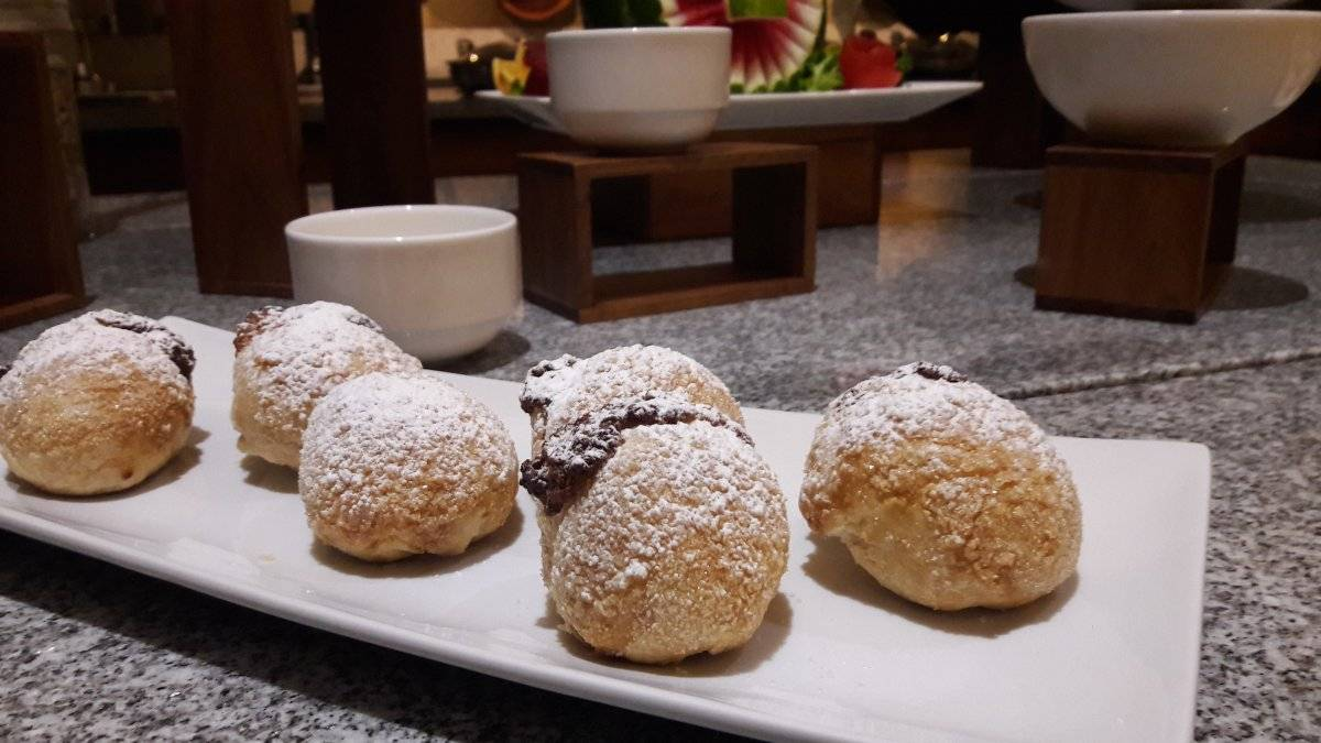 Bolitas de queso preparadas en el hotel Presidente Intercontinental Villa Mercedes en Mérida. Maryelin Reyes
