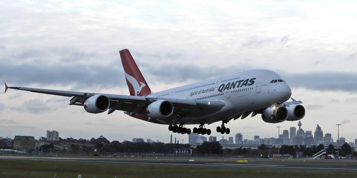 Aterriza el primer vuelo directo entre Australia y Reino Unido tras 17 horas