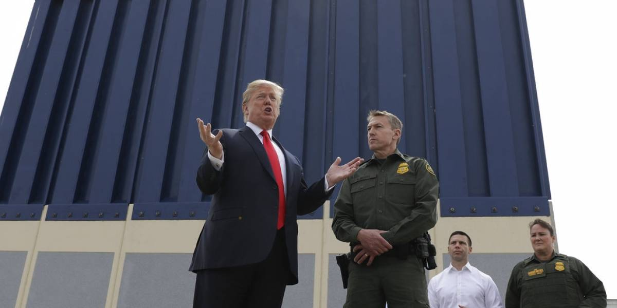 """Donald Trump asegura que la construcción del muro """"comenzará de inmediato"""""""
