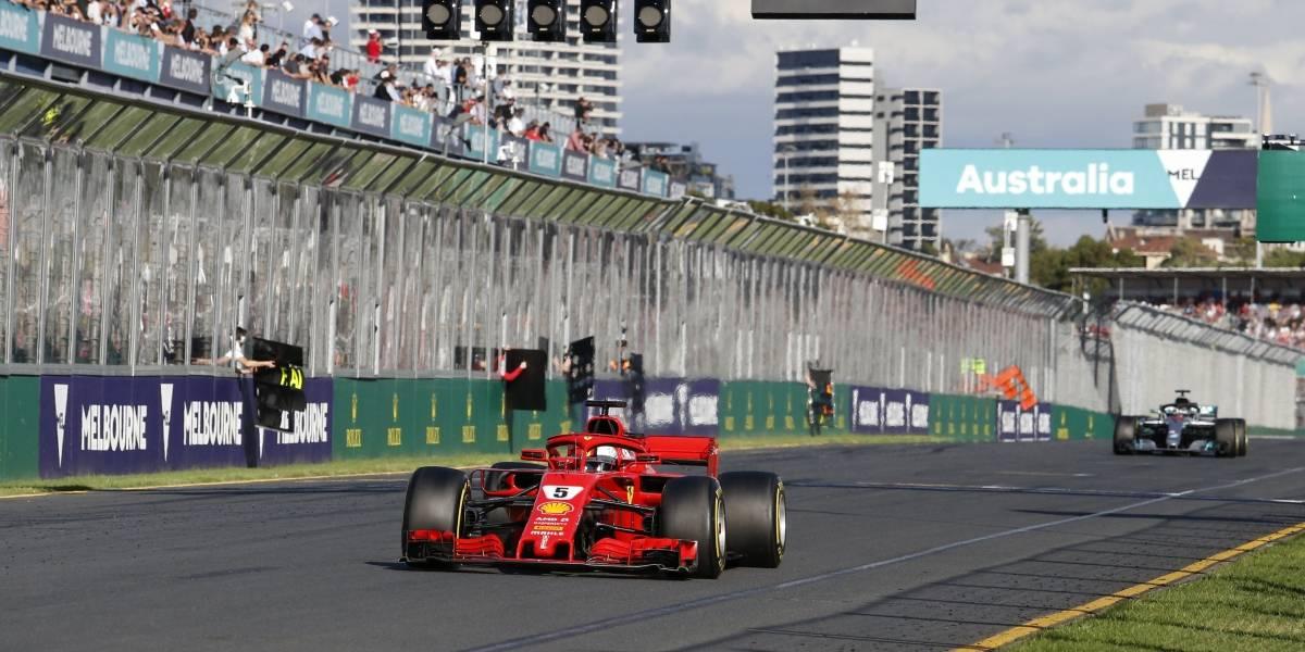 Sebastian Vettel se quedó con la primera carrera de la Fórmula 1 al ganar el GP de Australia