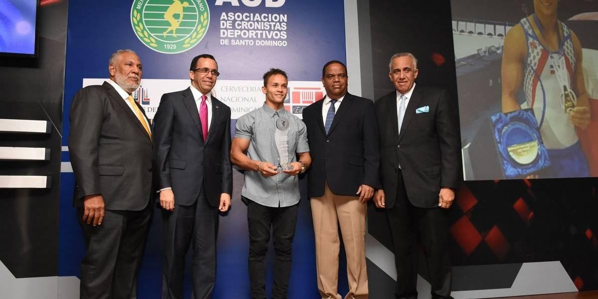 """Audrys Nin Reyes fue la estrella de más brillo en Gala """"Atleta del Año"""""""