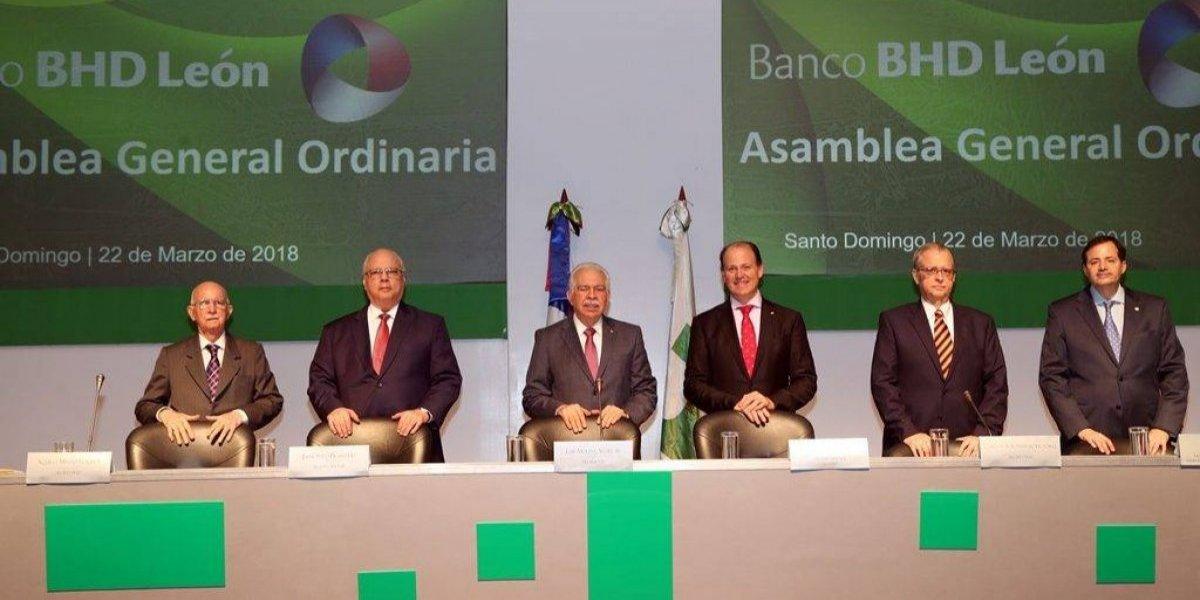 Banco BHD León dice sus activos incrementan 11.7 %; presentan resultados ejercicio 2017