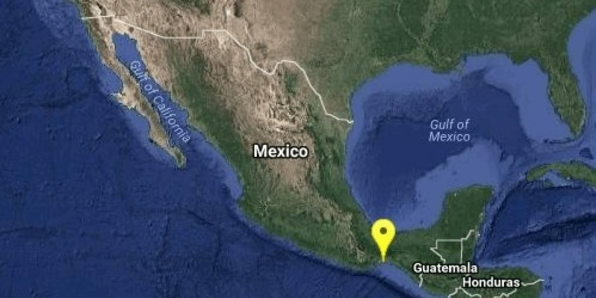 Tres sismos despiertan al sureste de México