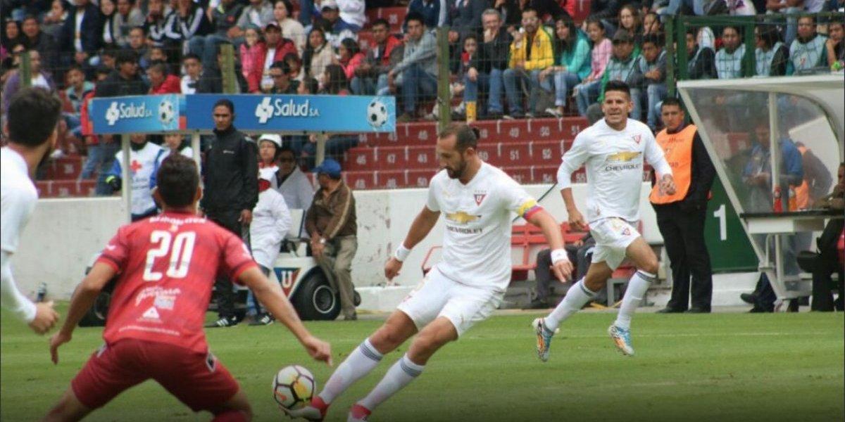 Liga de Quito vence a Emelec en el Capwell
