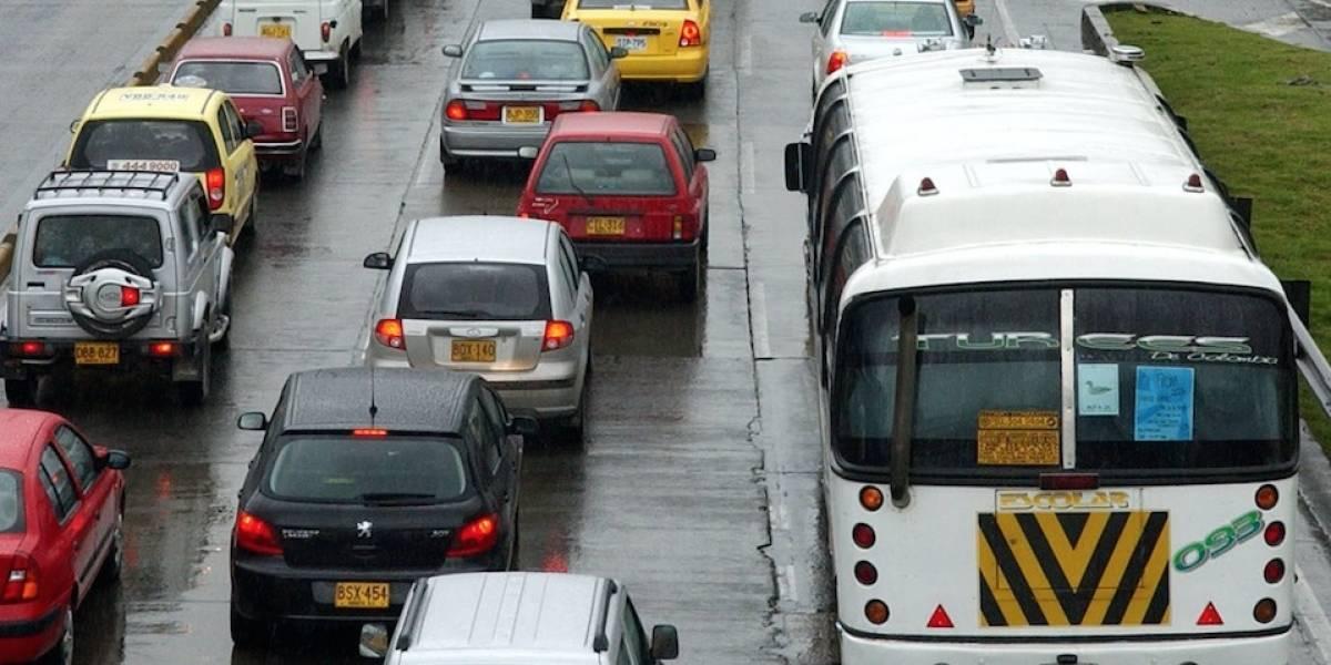 ¡Pilas! Algunas vías de Bogotá se encuentran cerradas por votaciones