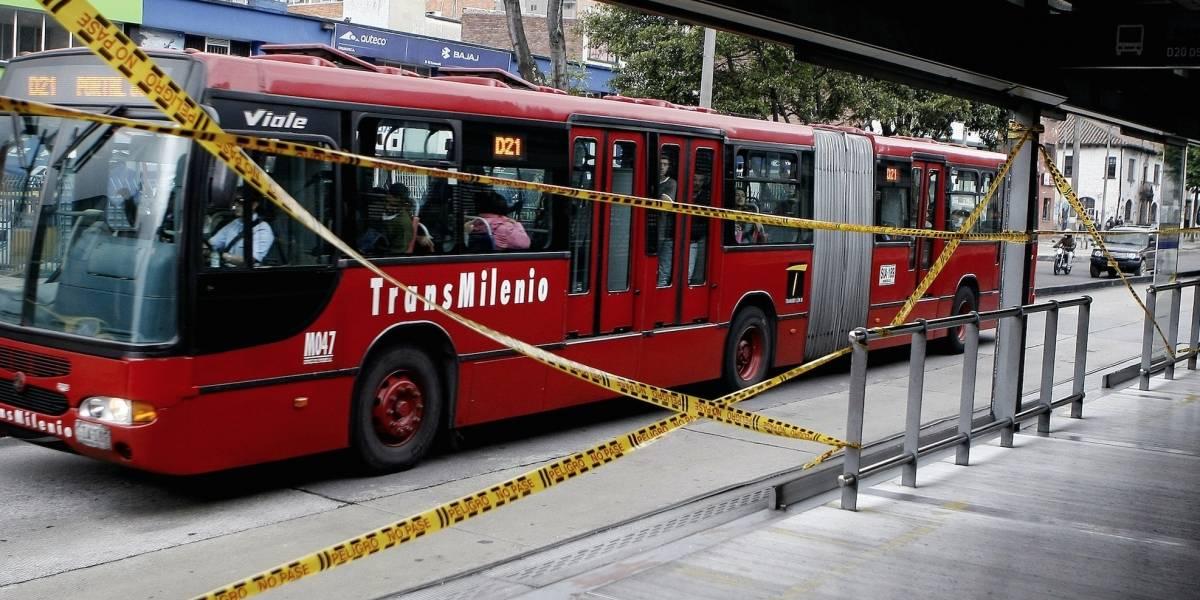 Cerrarán estaciones de Transmilenio temporalmente en la Avenida Caracas