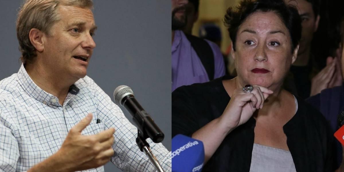 """Así fue el duro """"cara a cara"""" entre José Antonio Kast y Beatriz Sánchez en """"Estado Nacional"""""""