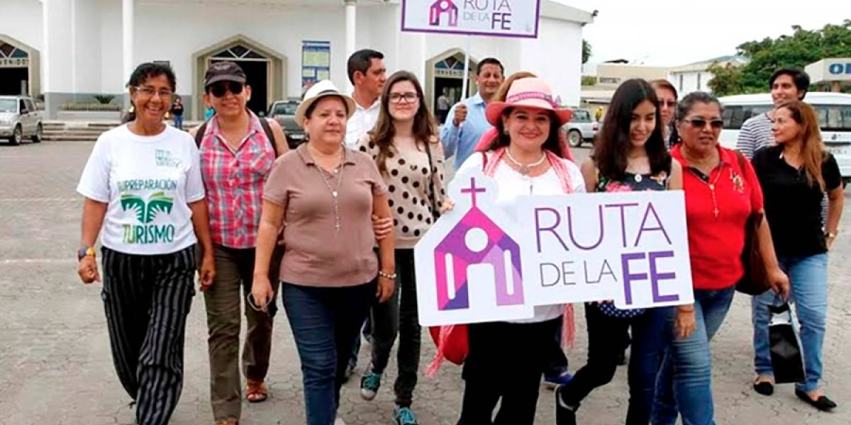 Ruta de la Fe partirá desde Guayaquil