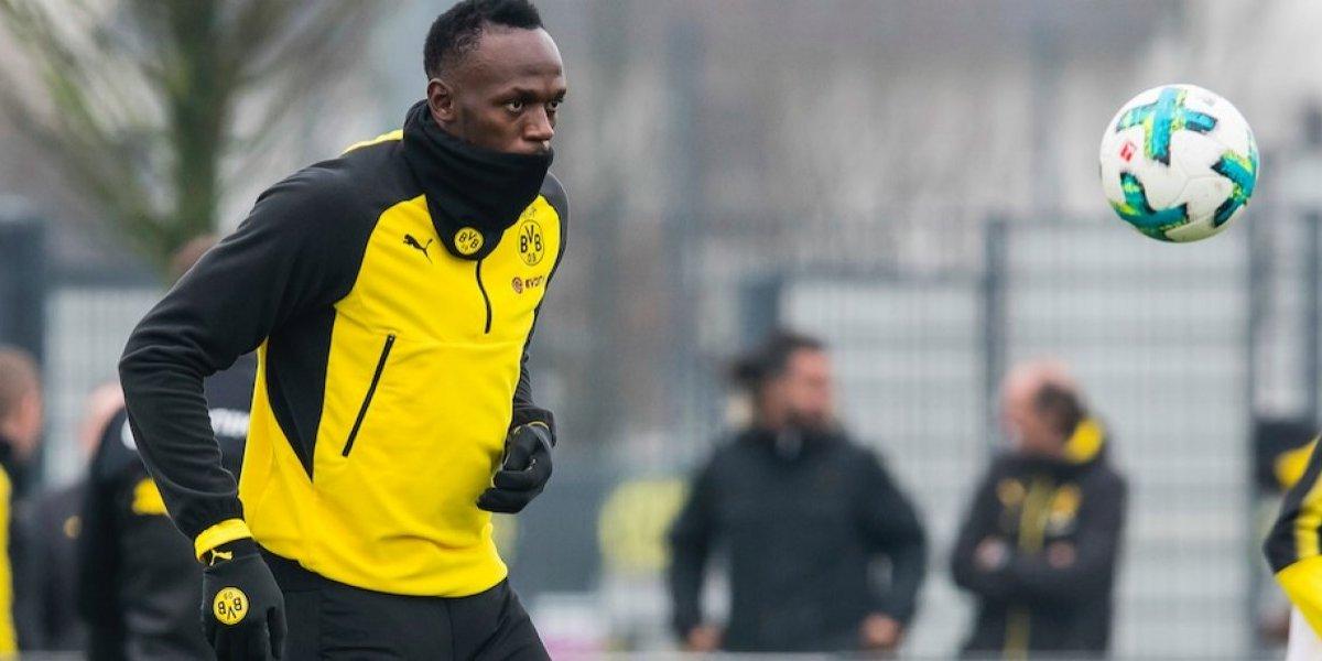 Usain Bolt, sin capacidades suficientes para el futbol profesional