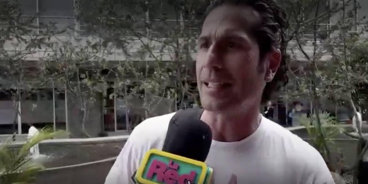 Gregorio Pernía aclara el tema de amenazas que recibió de un paramilitar