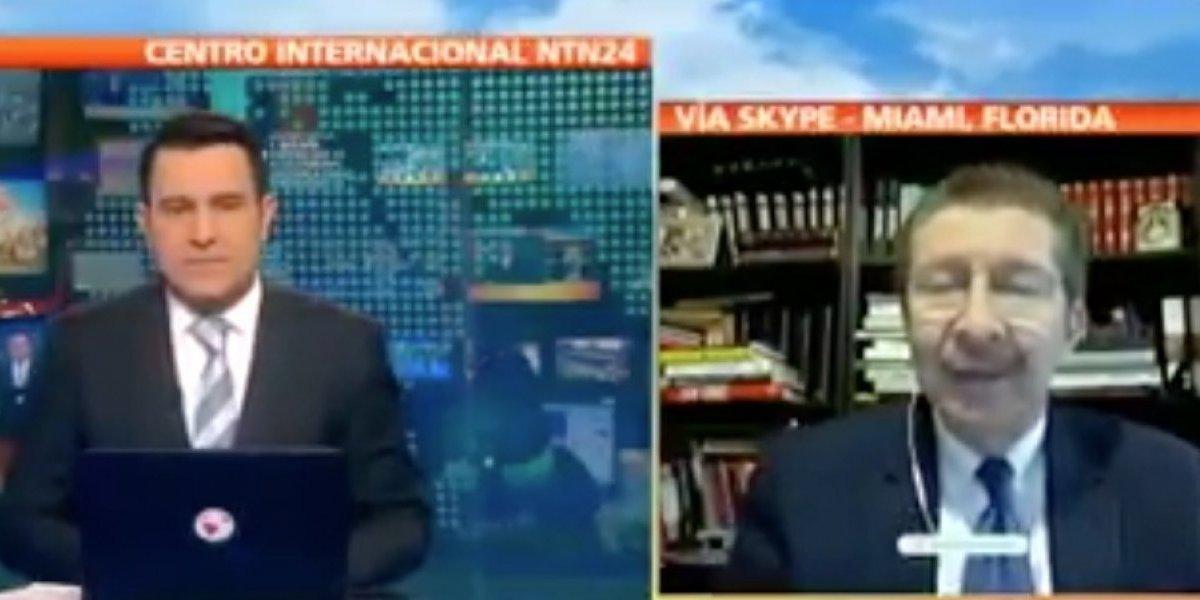 Canal de TV entrevista a especialista boliviano para explicar demanda en La Haya pero él les abre los ojos y quedan perplejos