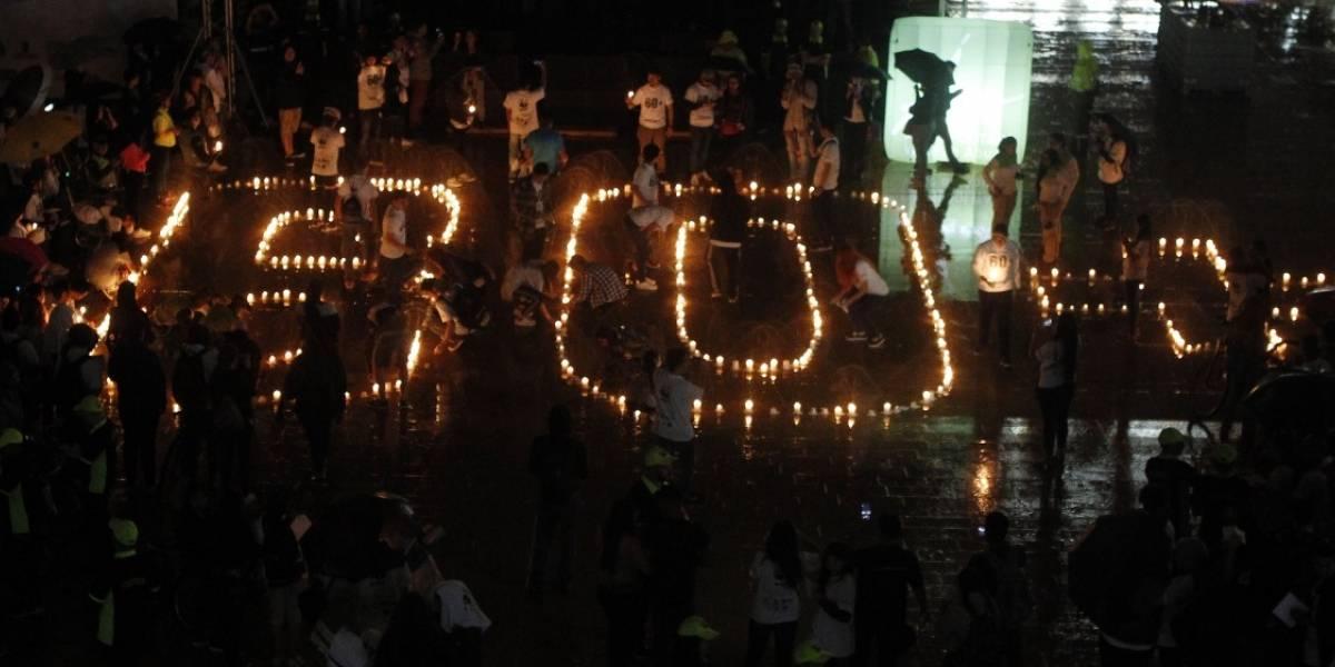 Colombianos apagaron luces en 25 ciudades para sumarse a la Hora del Planeta