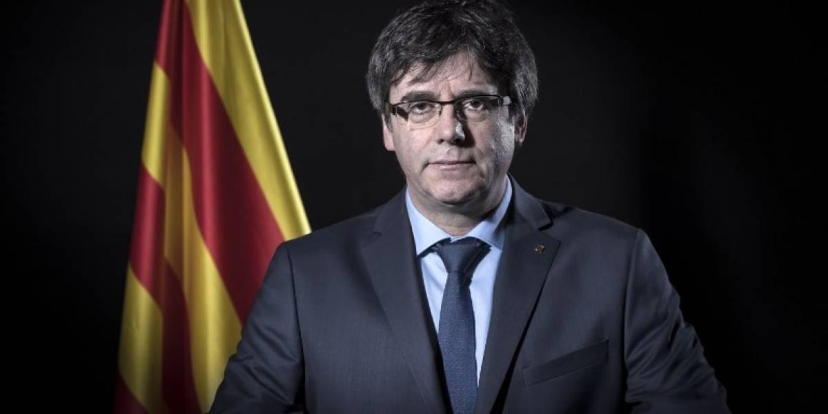 ExpresidenteCarles Puigdemont es detenido en Alemania