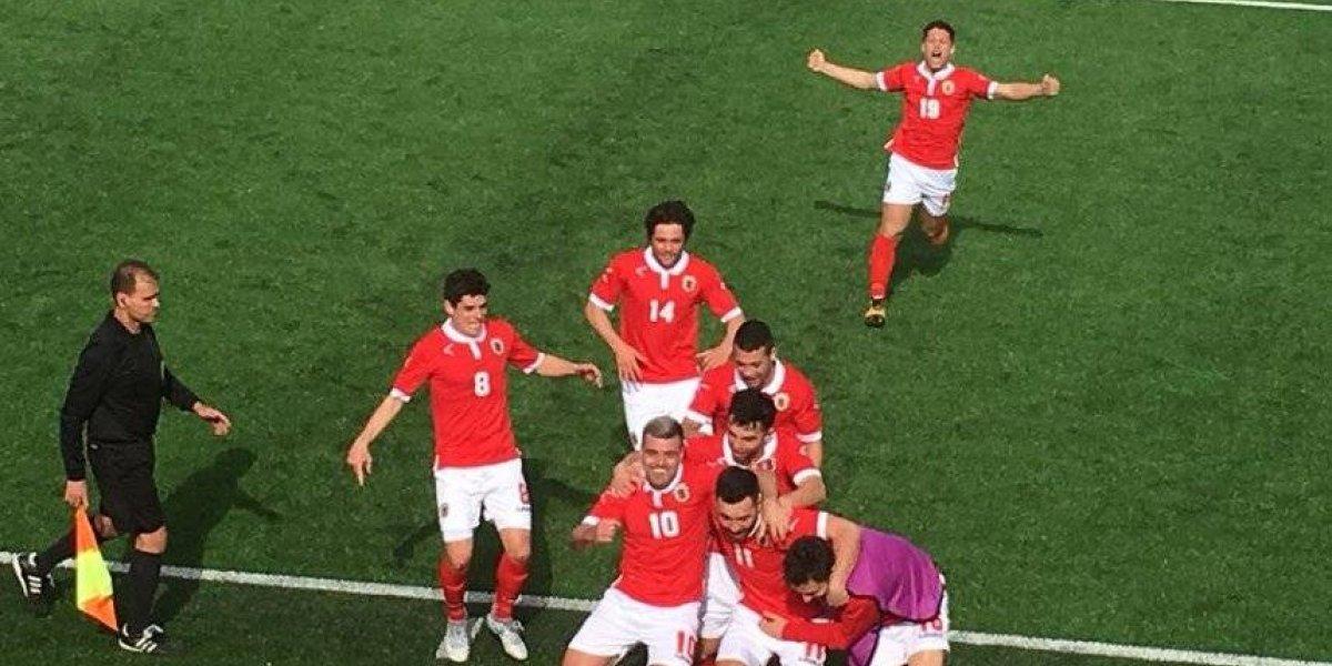 Gibraltar hace historia y logra su primera victoria desde que se afilió a la FIFA