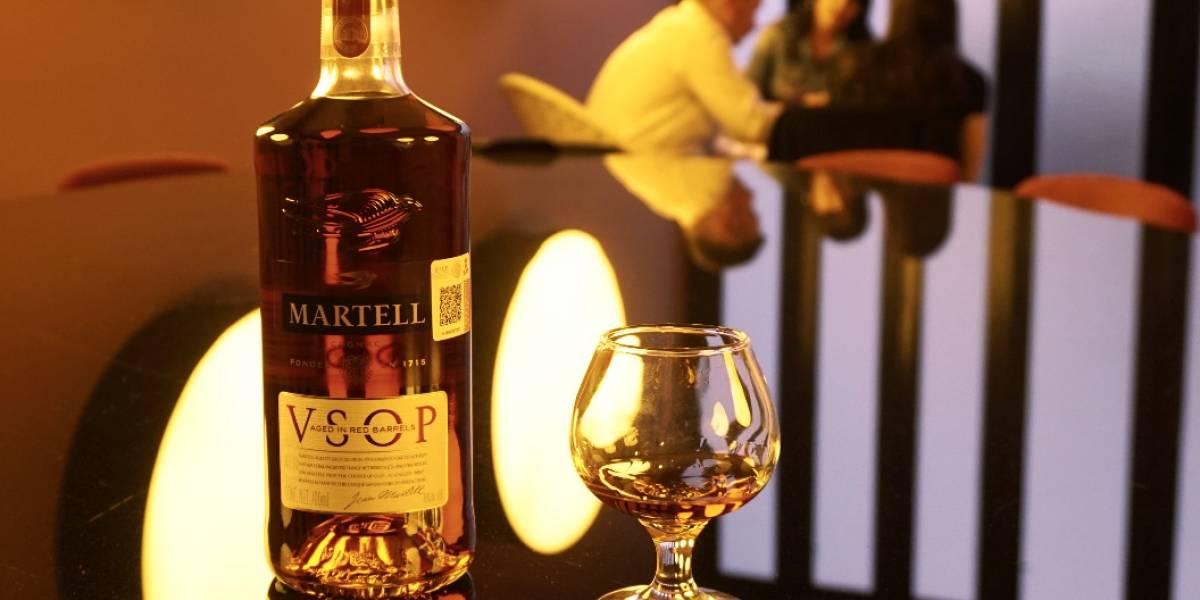 Martell VSOP cambia botella y perfecciona su sabor