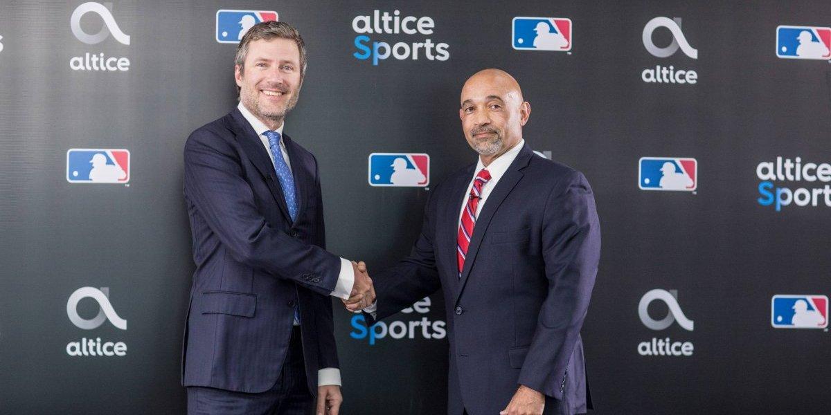 Altice y MLB firman acuerdo para transmisión de juegos