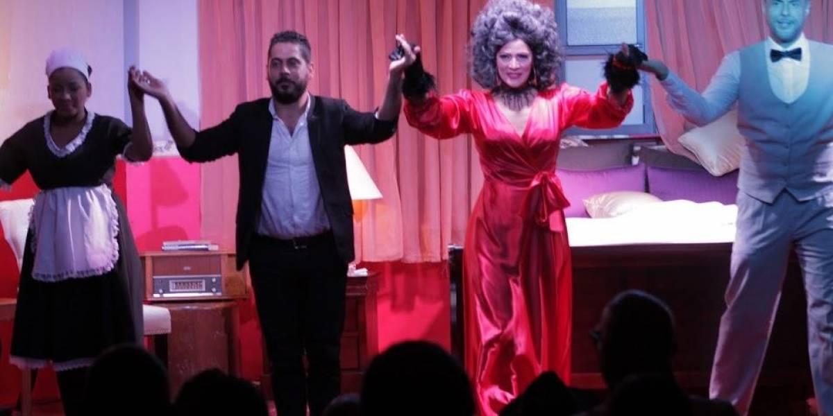 """Sexualmente hablando"" a partir del 12 de abril en Studio Theater de Acrópolis Center"