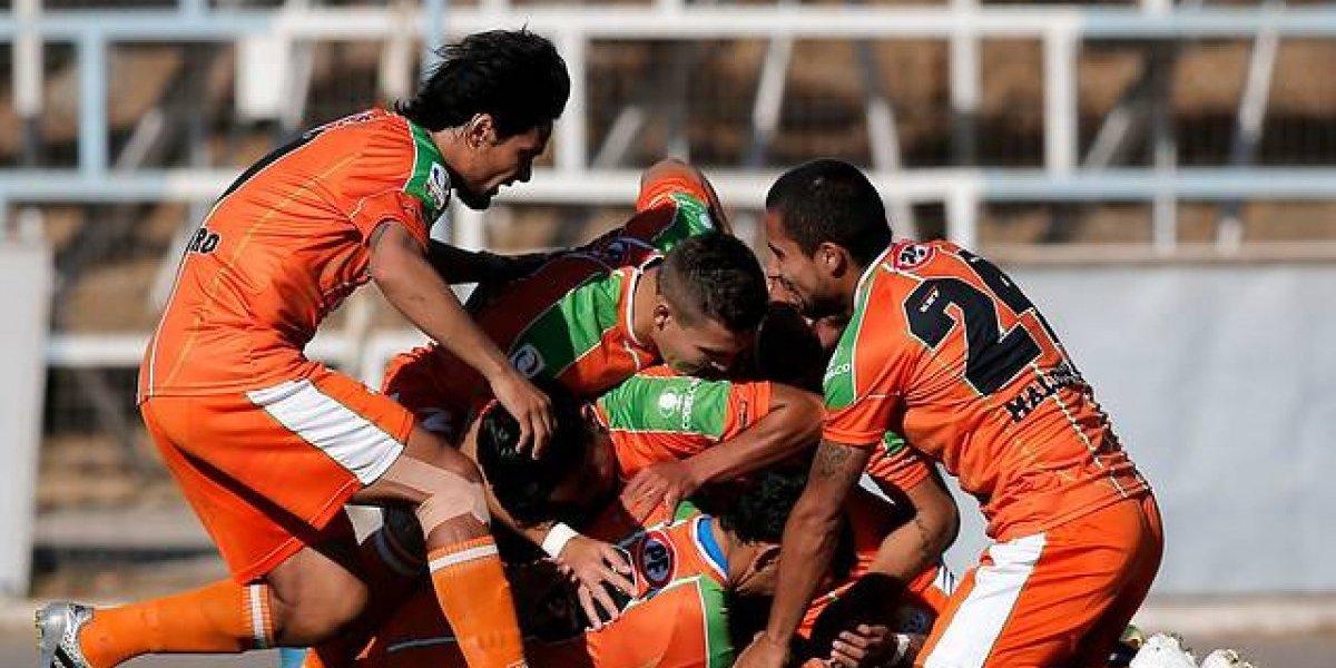 Cobresal sigue firme en la cima de Primera B tras derrotar a Deportes Copiapó