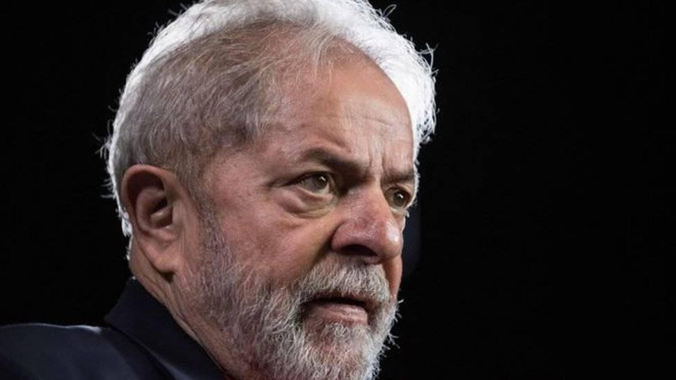 Lula tiros