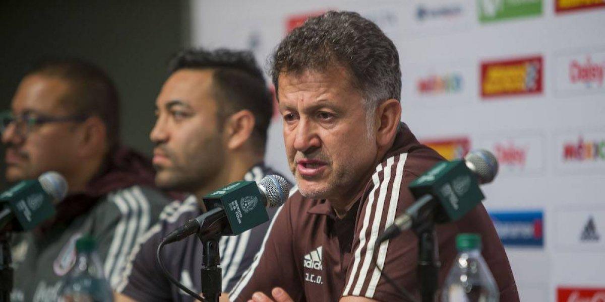Osorio dará ante Croacia oportunidad a jugadores de ganarse un puesto