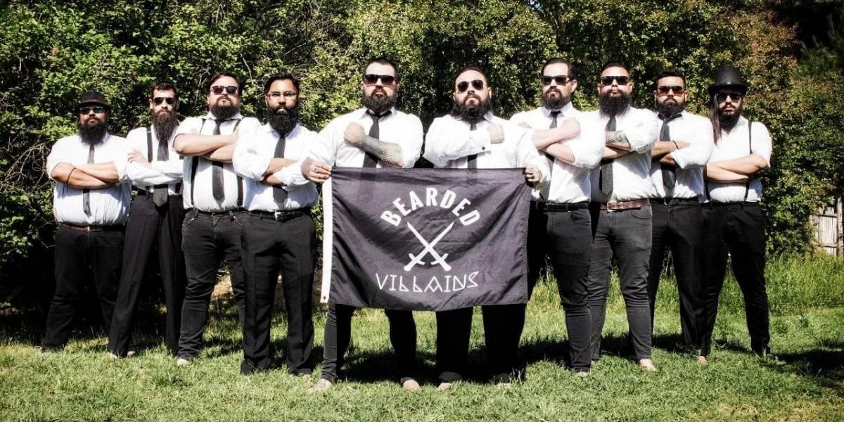 """Lampiños no: El grupo internacional caritativo """"Bearded Villains"""" al que sólo puedes entrar si tienes barba y cómo puedes participar en Chile"""