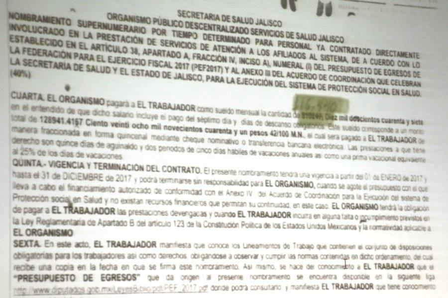 Cruces Mada dejó un caos en Salud Jalisco