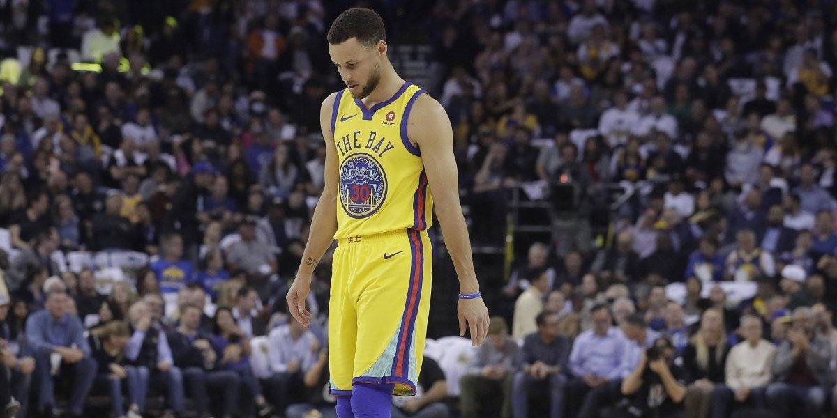 Curry no podrá volver a jugar hasta la segunda ronda de playoffs