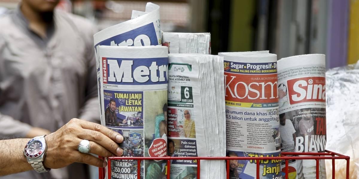 'Fake News' serán castigadas hasta con 10 años de cárcel en Malasia