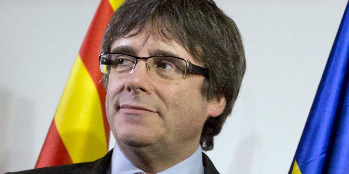 Exlíder catalán comparecerá ante juez en Alemania