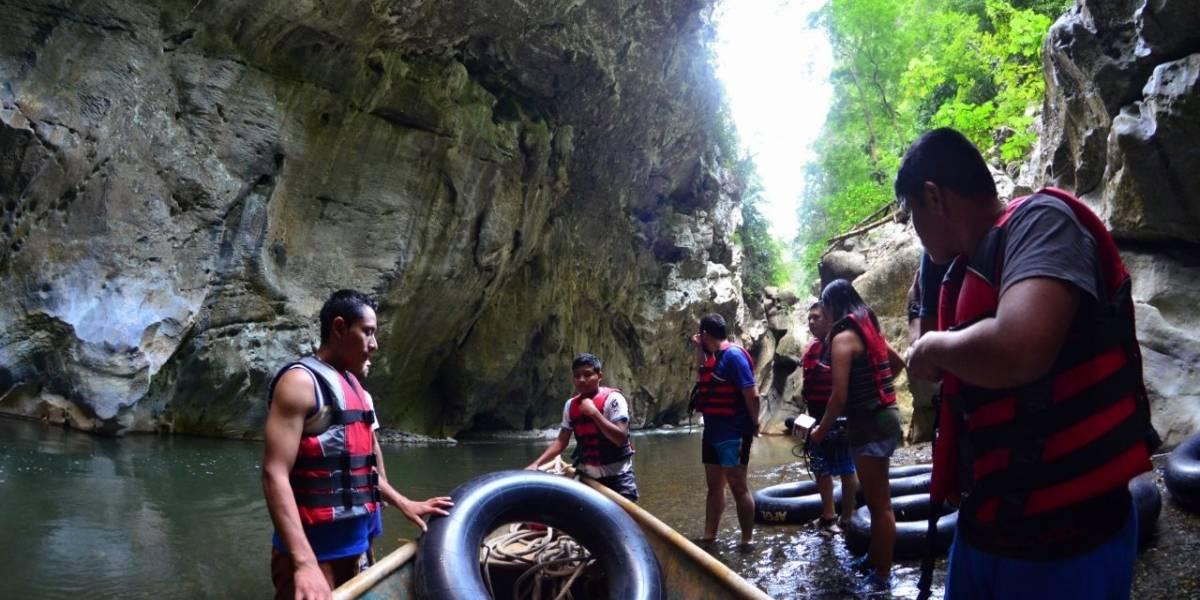 El Cañón de Seacacar, un tesoro natural escondido en Guatemala