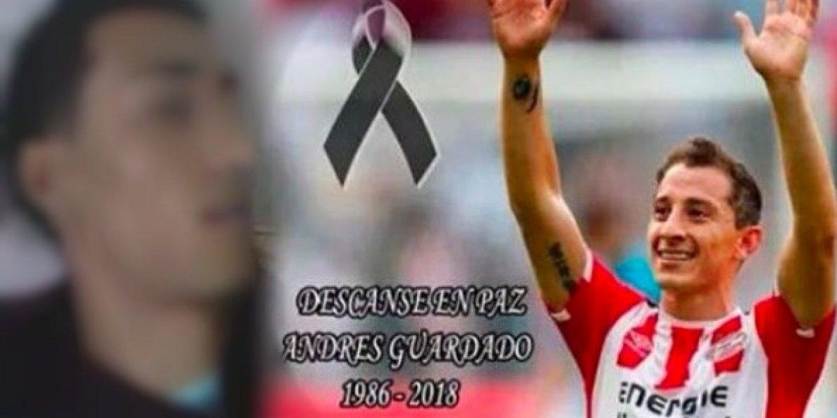 Andrés Guardado denuncia falsa publicación sobre su muerte