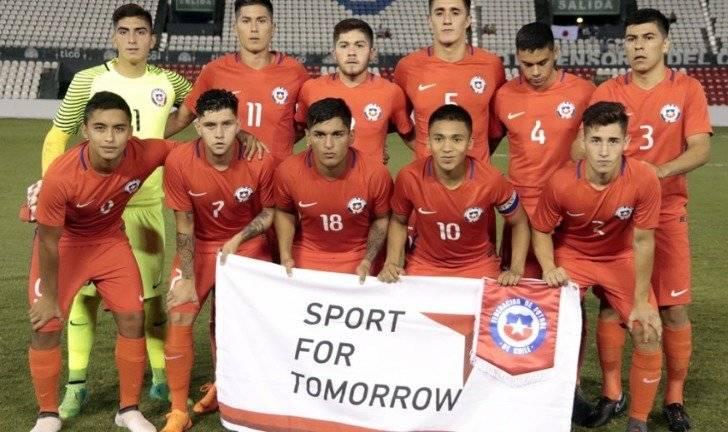 La Roja Sub 20 se ilusiona para el Sudamericano del próximo año / imagen: ANFP