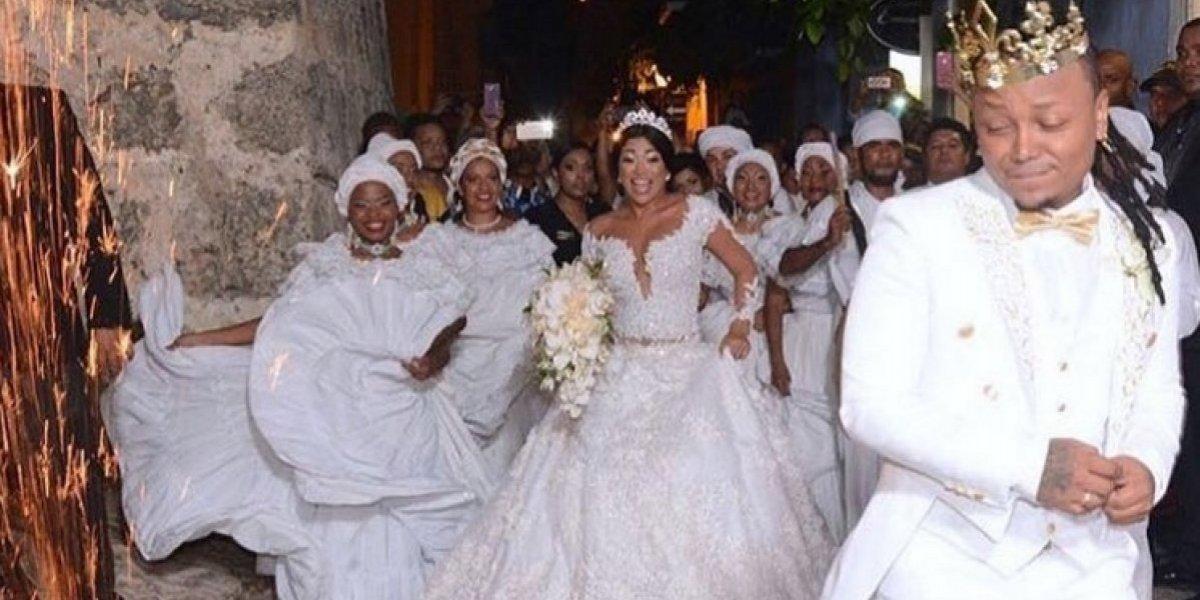 Escandalosa cifra: esto sería lo que costó la boda de Mr. Black