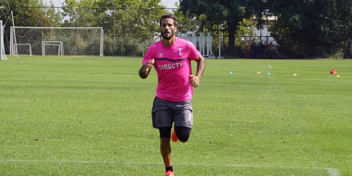 Germán Voboril ya vive un calvario en la UC al presentar nuevos problemas para entrenar