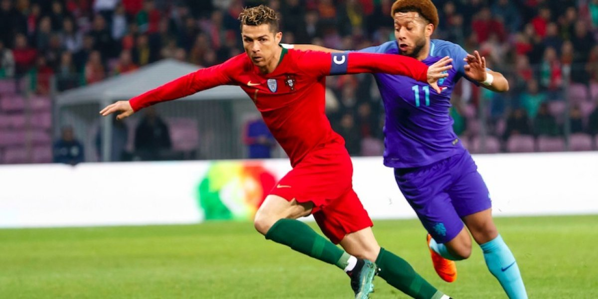 Portugal y Cristiano sufren descalabro frente a Holanda