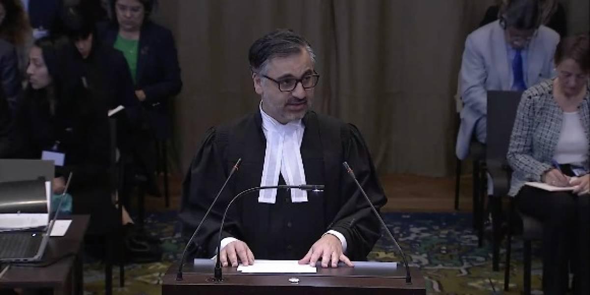 """Alegatos en La Haya:""""Chile ha tergiversado los hechos y pido a los jueces tener cuidado con esas aseveraciones"""""""