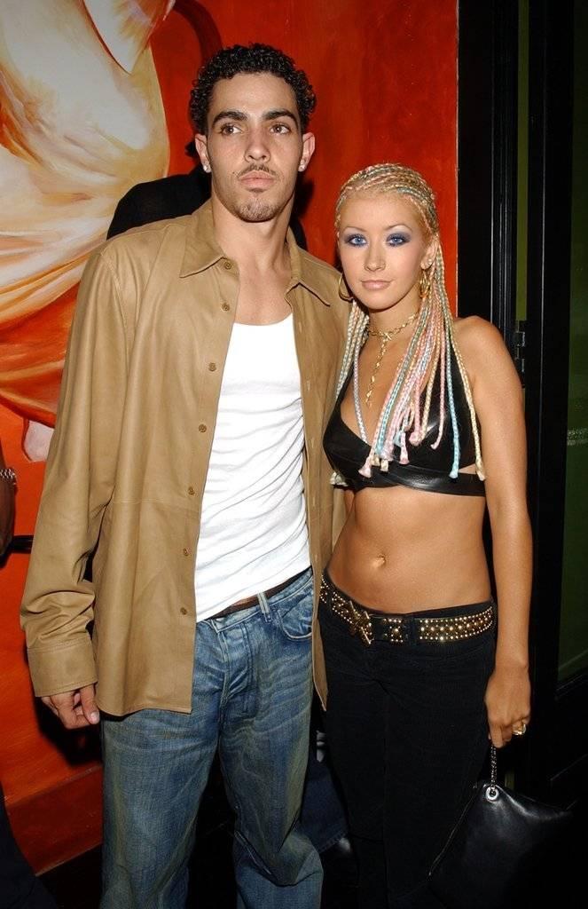 Christina Aguilera y Jorge Santos