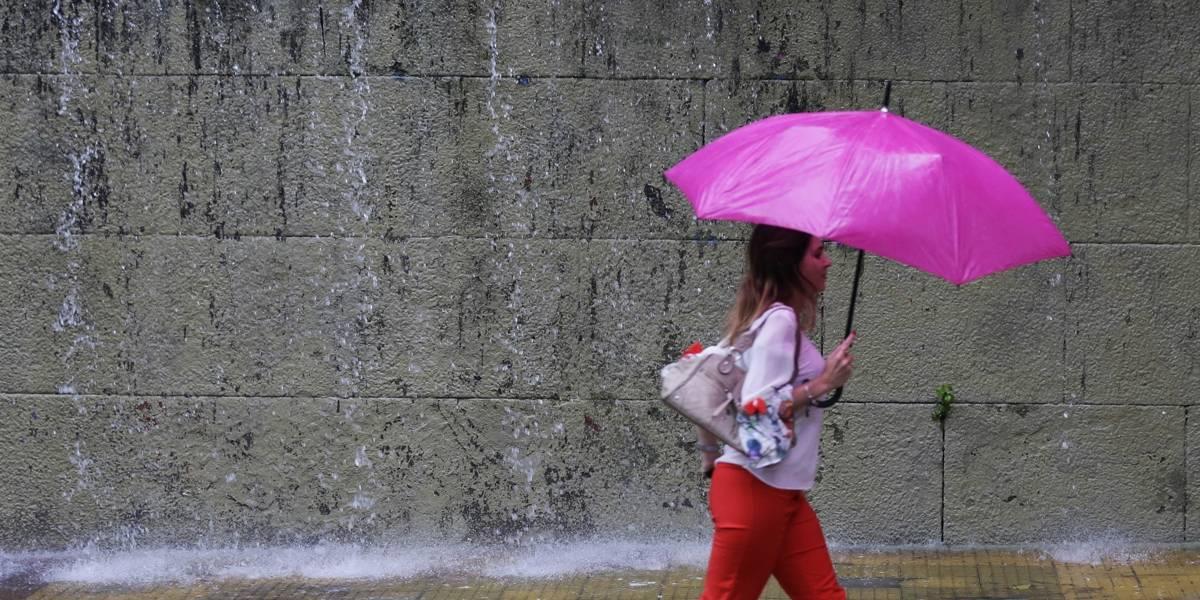 Chuvas chegam a São Paulo após um mês