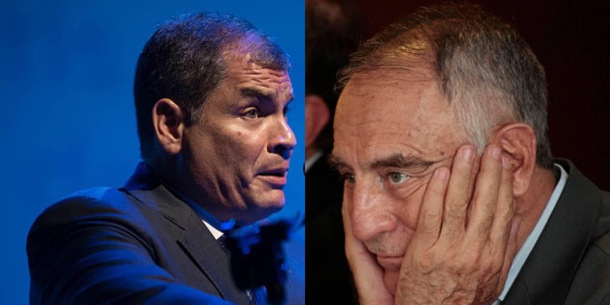 Rafael Correa le responde a Paco Moncayo sobre las FFAA y la Policía