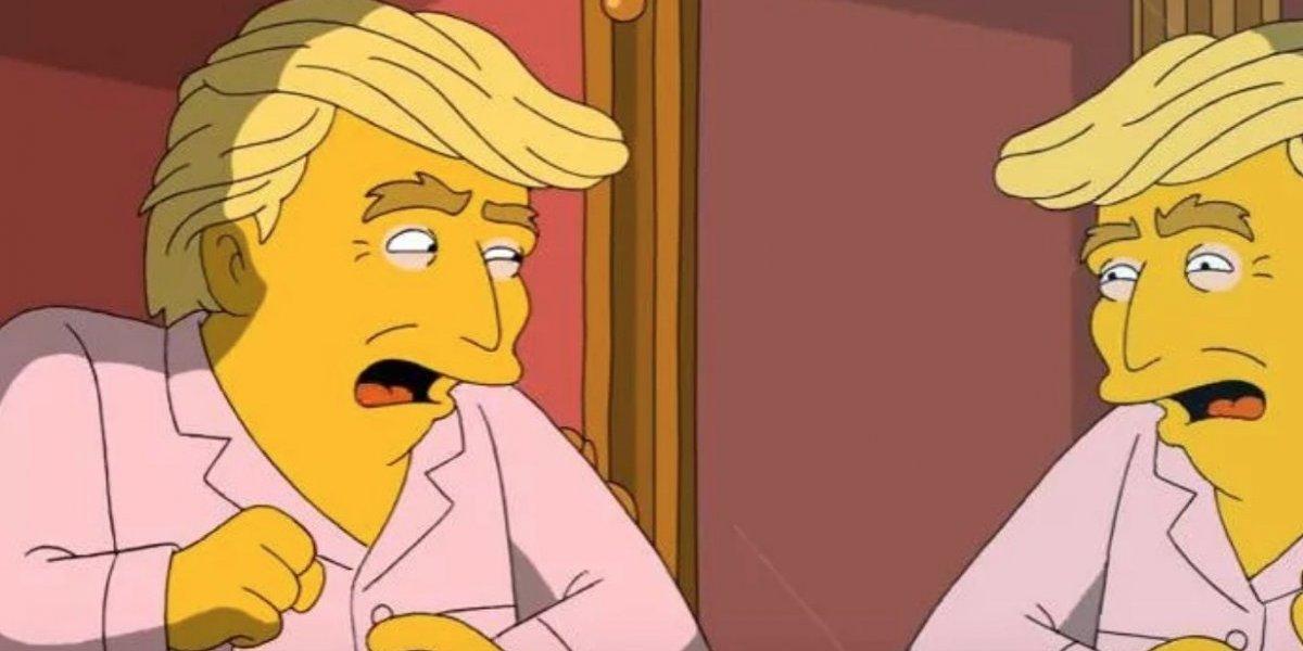 Divorcio de Trump y Melania ¿La próxima predicción de Los Simpsons?