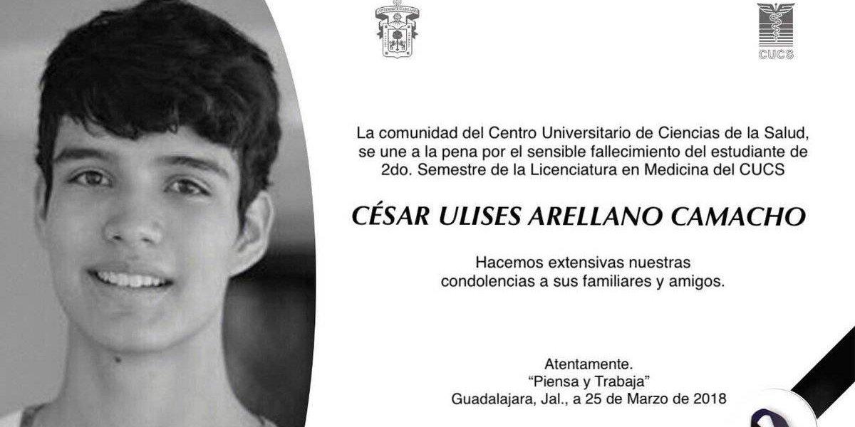 César Ulises Arellano Camacho dejó una nota despidiéndose: Fiscalía de Jalisco