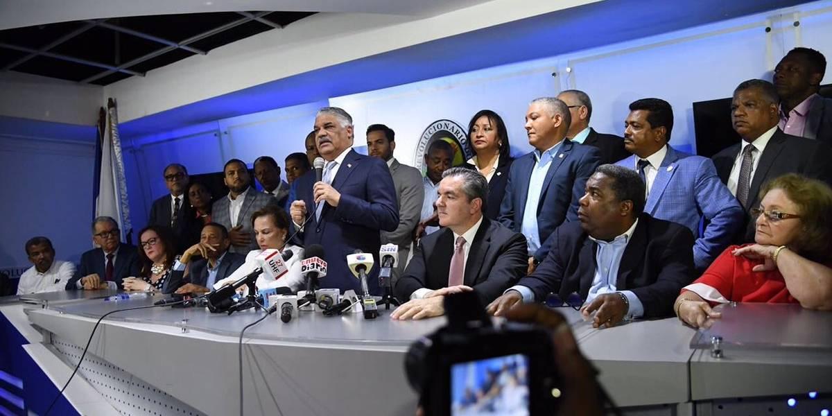 Miguel Vargas ratifica que Guido Gómez está expulsado del PRD