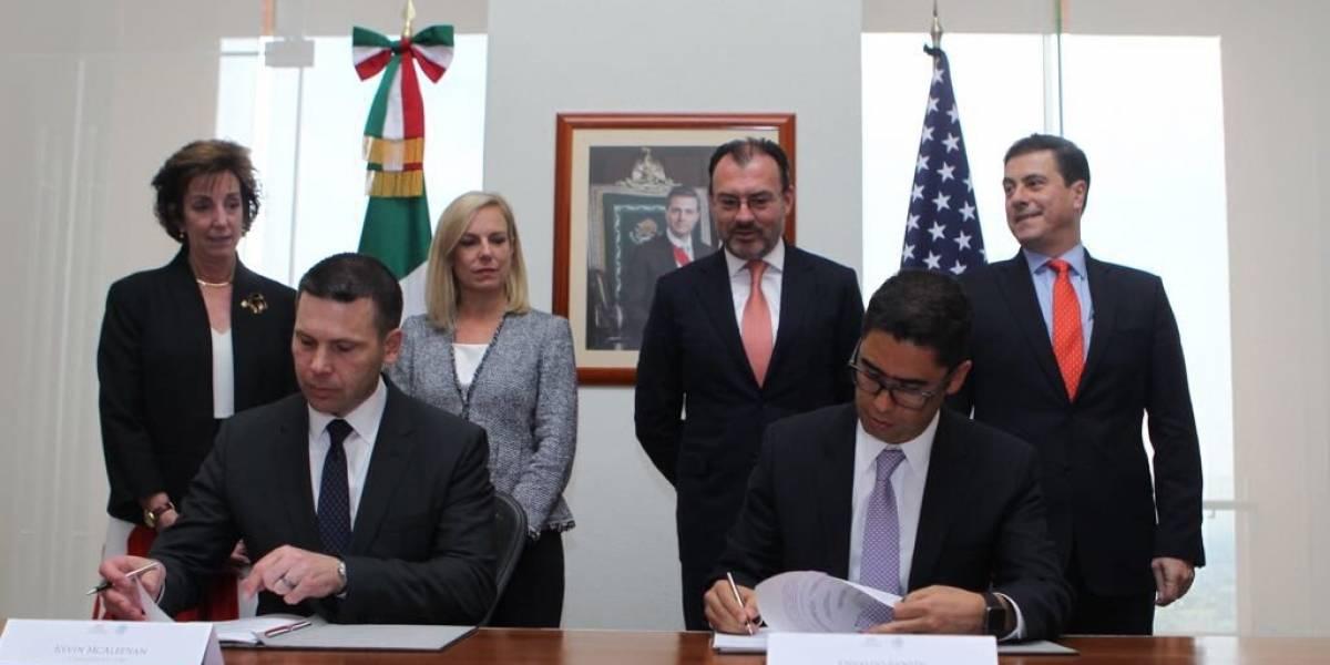 México y EU acuerdan agilizar procesos aduanales y de comercio internacional