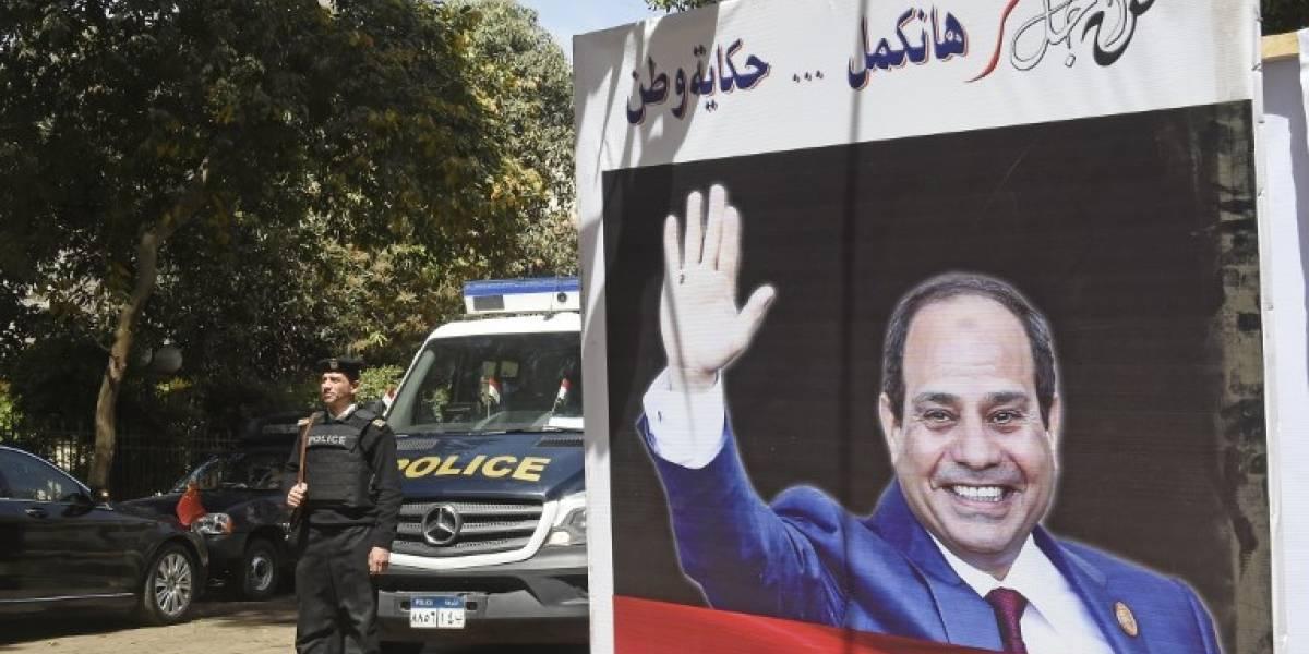 Egipto vota en unas presidenciales con Al-Sisi como claro favorito