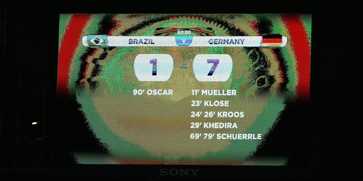 """Brasil enfrenta a Alemania con el 7-1 dando vueltas: """"Cargamos todo el día con el fantasma"""""""