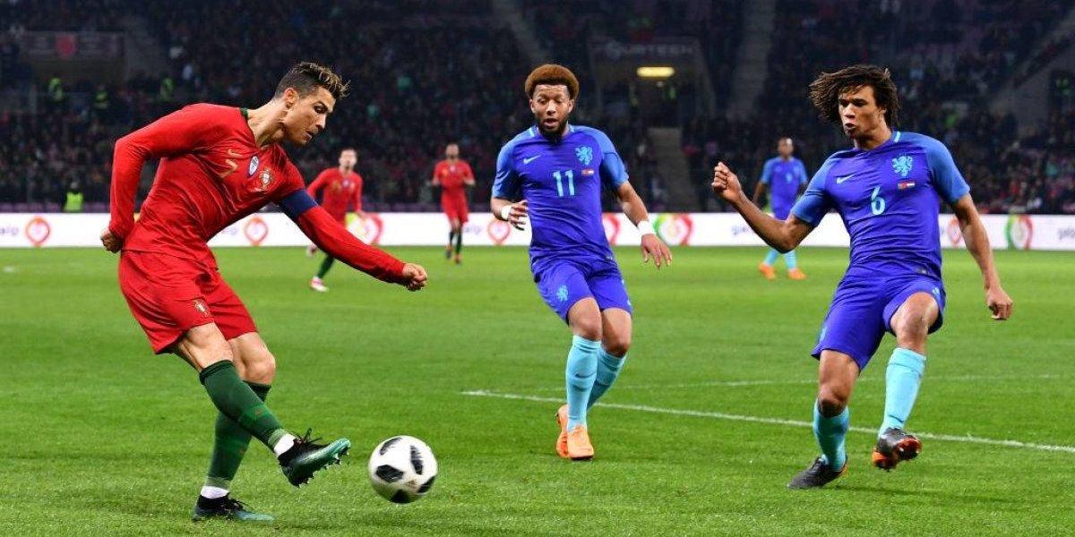 Holanda humilló a Cristiano y su Portugal con tres goles en un tiempo