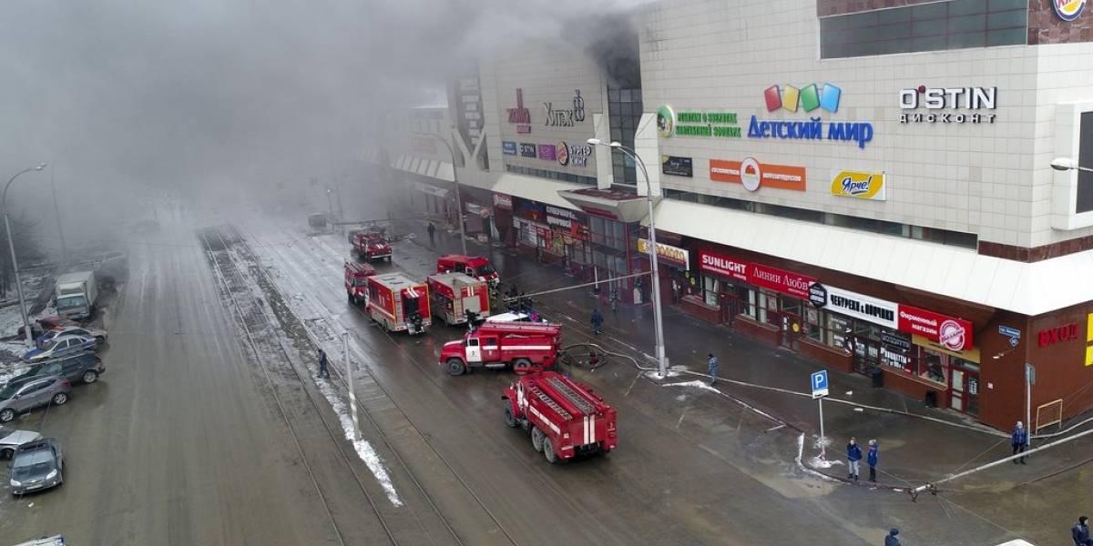 "Putin denuncia ""negligencia criminal"" en incendio de centro comercial ruso"