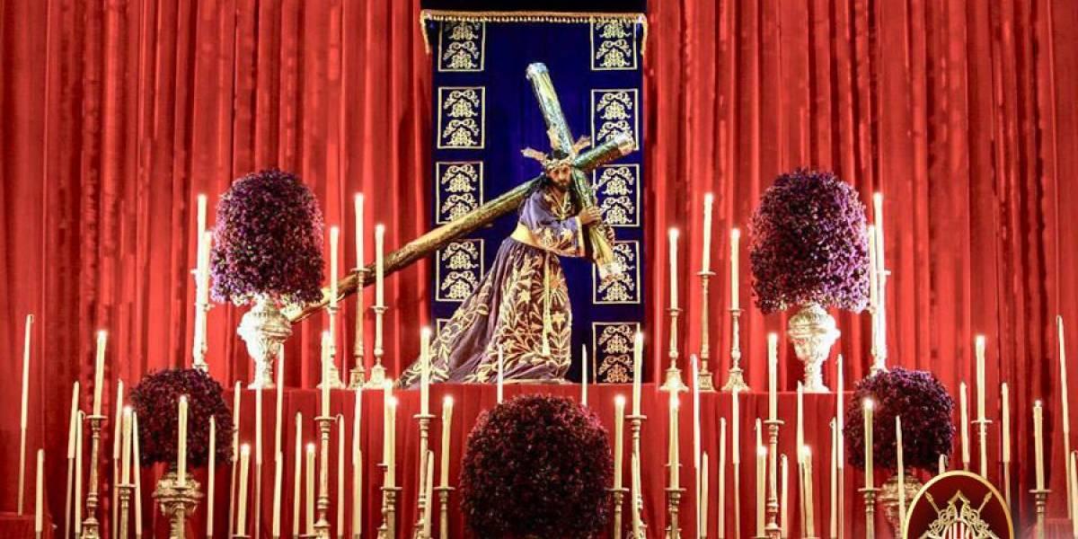 Jesús de las Tres Potencias saldrá en procesión del antañón barrio de La Parroquia